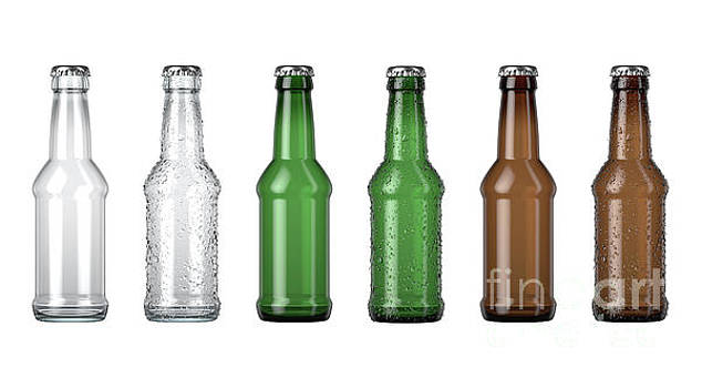 Empty Beer Bottle Color Range by Allan Swart