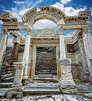 Ancient Temple by Maria Coulson