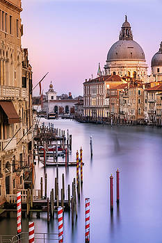 Evening light in Venice by Susan Leonard