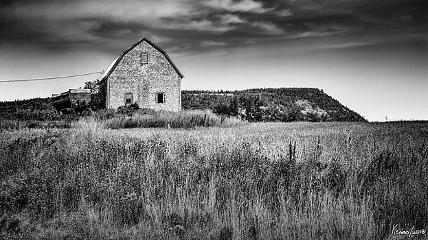 Farm in Blomidon by Ken Morris