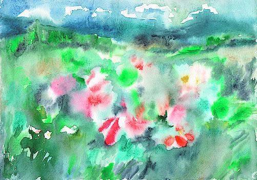 Flowering meadow by Dobrotsvet Art