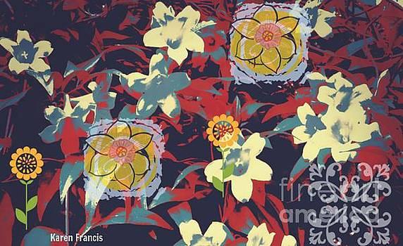 Flowers by Karen Francis
