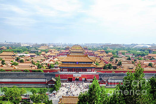 Forbidden city by Iryna Liveoak