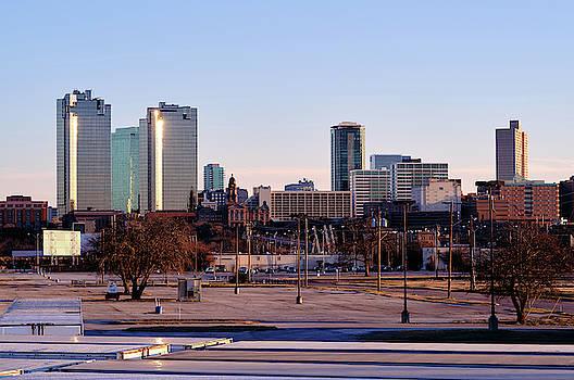 Fort Worth Skyline V3 013119 by Rospotte Photography