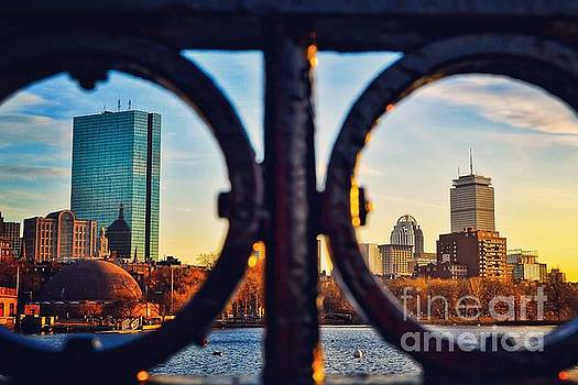 Framed Skyline by SoxyGal Photography