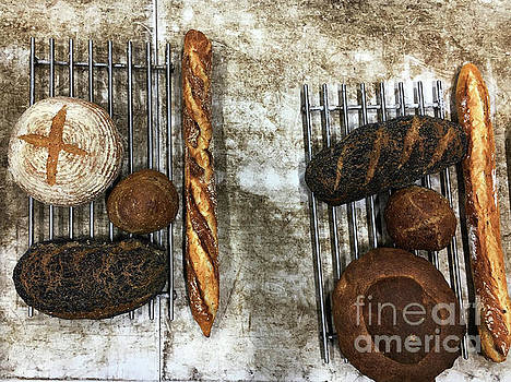 Freshly baked artisan bread by Tom Gowanlock