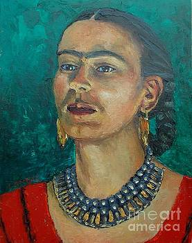 Frida Teal by Lilibeth Andre