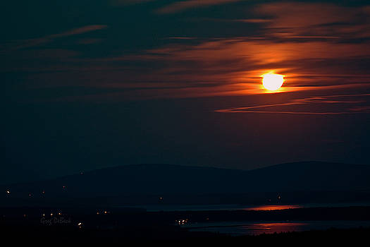 Full Moon Rising by Greg DeBeck