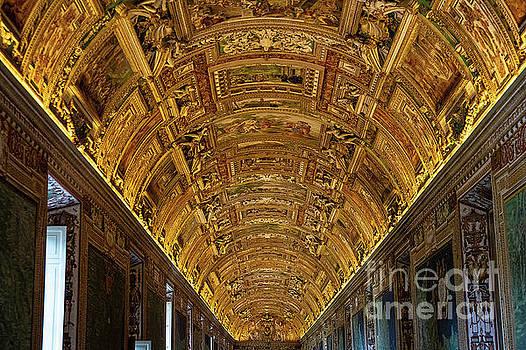 Wayne Moran - Gallery of Maps Vatican Rome