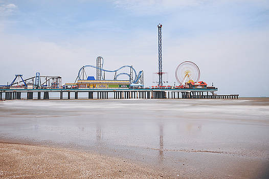 Galveston Pleasure Pier by Ray Devlin