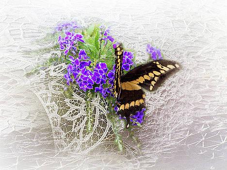Golden Butterfly by Leticia Latocki