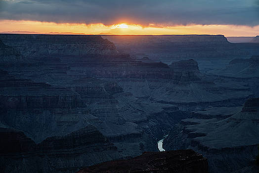 Grand Canyon at dusk by Kamran Ali