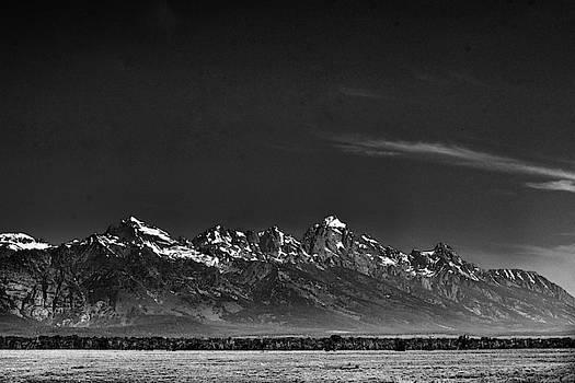 Grand Tetons Vista by Bharat Rao