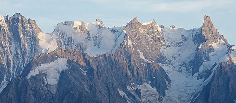 Grandes Jorasses Panorama by Stephen Taylor