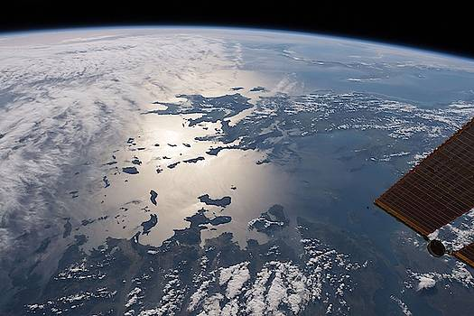 Greece and the Aegean and Ionian Seas by Celestial Images