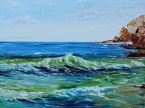 Green Wave by Kevin Brown