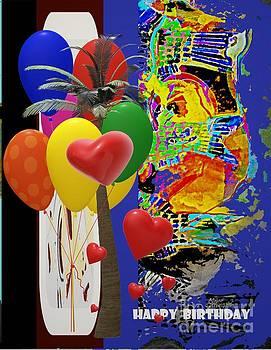 Happy Birthday by Claire Sallenger Martin