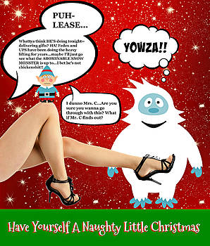 Have Yourself A Naughty Little Christmas by Aurelio Zucco