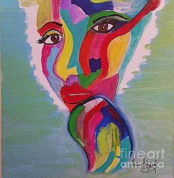 I woke up Bright and Vivid by Lisa Gilyard