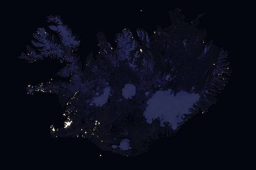 Iceland At Night by Celestial Images