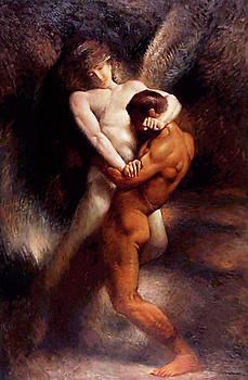 Jacob Earns His Name  by Leon Bonnat