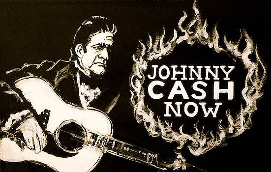 Johnny Cash Banner by Pete Maier