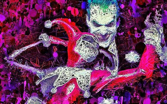 Joker and Harley Quinn by Al Matra
