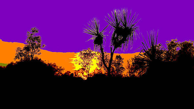 Kakadu Sunrise #2 - Pop Art by Lexa Harpell