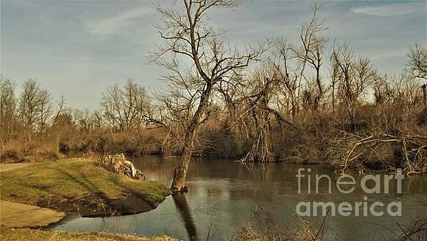 Kankakee River         Spring         Indiana by Rory Cubel