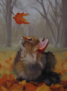 Last Leaf by Diane Hoeptner