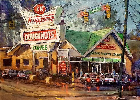 Krispy Kreme Evening by Dan Nelson