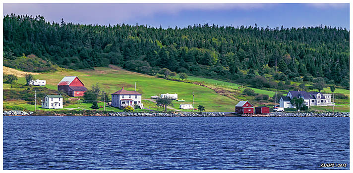 LaHave, Nova Scotia by Ken Morris