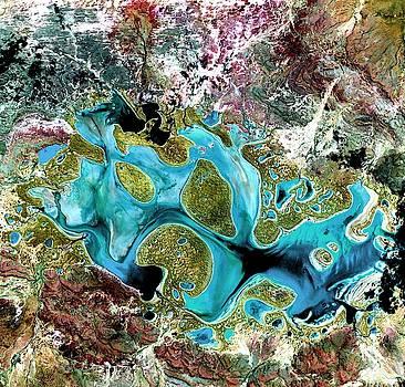 Lake Carnegie Western Australia by Celestial Images