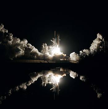 Launch of Space Shuttle Columbia's STS-61-C mission by Celestial Images