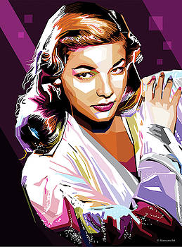 Lauren Bacall by
