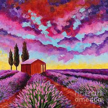 Lavender Fields Forever by Elissa Anthony