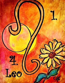 Leo Zodiac Sign by Carol Stanley