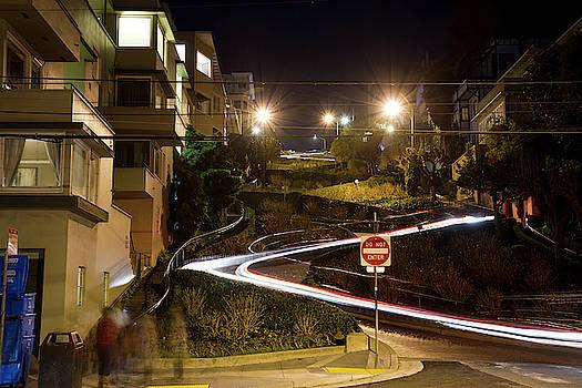 Lombard Street San Francisco by Nathan Rupert