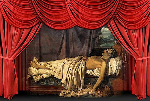 Lord Byron On His Death by MotionAge Designs