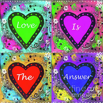 Sharon Williams Eng - Love is the Answer Poster 300