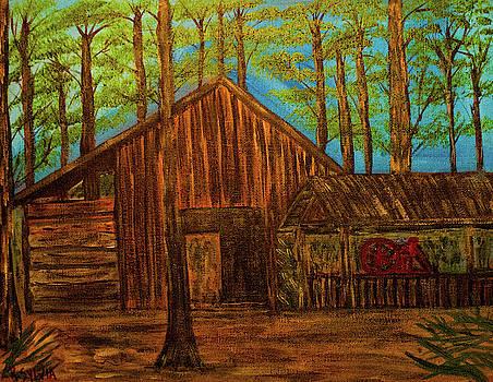 Lowe Barn by Randy Sylvia