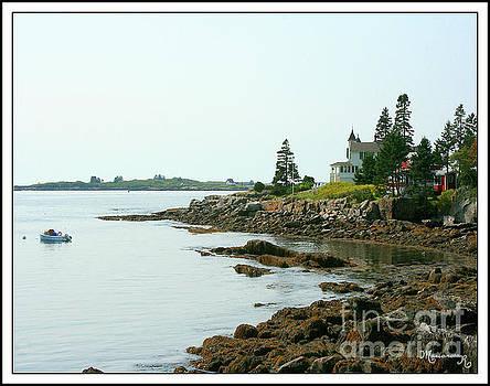 Maine Coast by Mariarosa Rockefeller