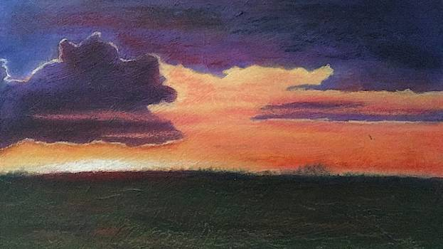 Marsh Sunset by Marcia Hero