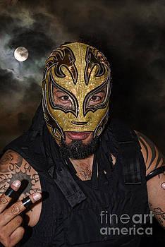 Masked Luchador Estilo Rudo by Jim Fitzpatrick