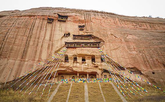 Mati Si Temple Zhangye Gansu China by Adam Rainoff