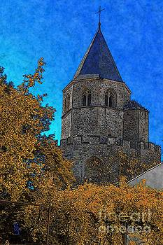 Medieval Bell Tower 6 by Jean Bernard Roussilhe