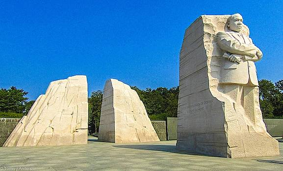 MLK Memorial  by Tommy Anderson