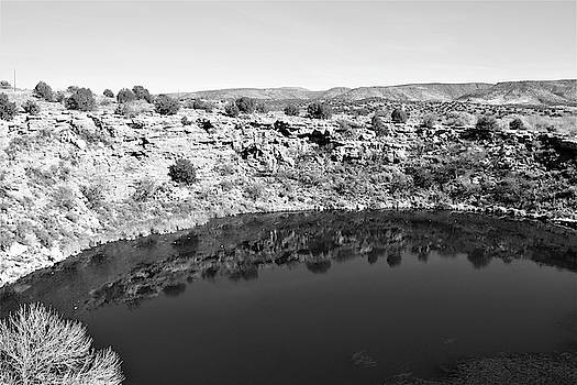 Montezuma Well National Monument - Cliff Dwelling by Deborah Kinisky