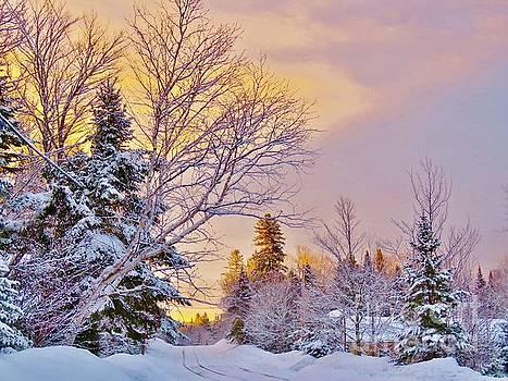 Morning sky by Brenda Ketch