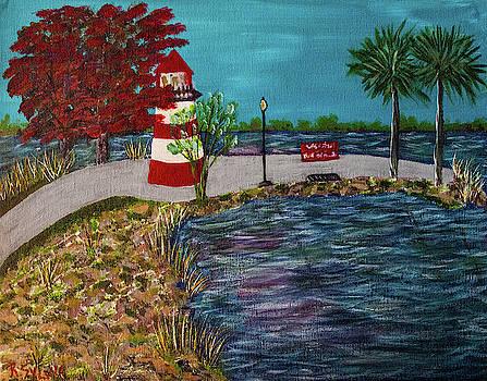 Mount Dora Lighthouse by Randy Sylvia